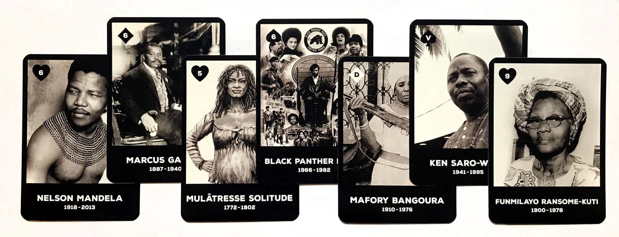Histoire noire : 54 cartes éclair (vol. 1)